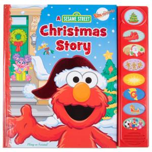 A Sesame Street Christmas Story Book