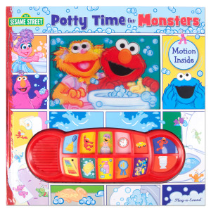 Sesame Street Potty Time for Monsters Sound Book