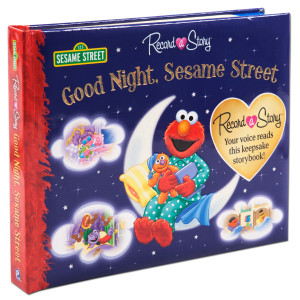 Good Night, Sesame Street Record a Story Book