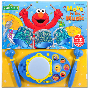 Sesame Street Move to the Music Book