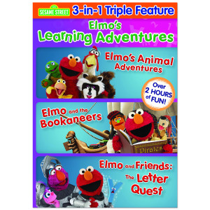 Sesame Street: Elmo's Learning Adventures DVD