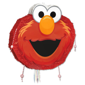 Elmo Face Jumbo Pinata