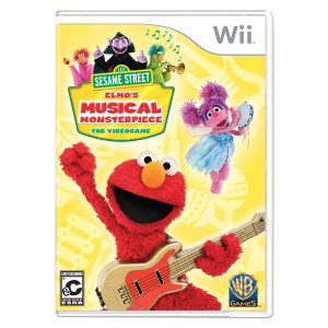 Sesame Street: Elmo's Musical Monsterpiece Wii