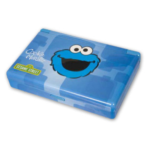 Cookie Monster Nintendo DS Gamer Vault