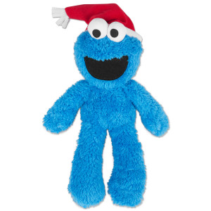Cookie Monster Christmas Take Along Buddy