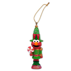 Elmo Nutcracker Ornament
