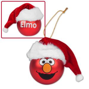 Elmo Big Face Hat Ornament