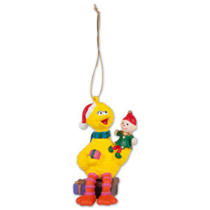 Big Bird Elf Ornament