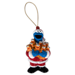 "Sesame Street 3.75"" Cookie Ginger Men Ornament"