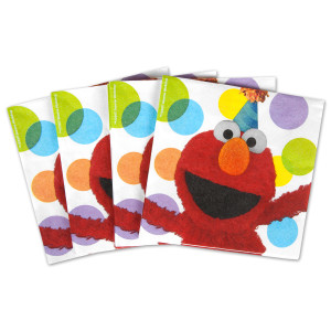 Elmos Party Luncheon Napkins