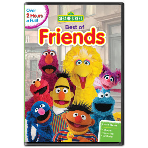 Sesame Street: Best of Friends DVD