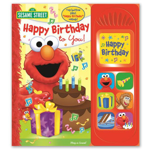 Sesame Street Happy Birthday Friends Book