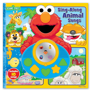 Sesame Street Sing Along Animal Songs Book