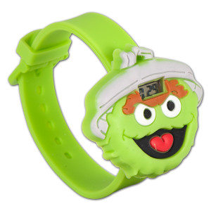 Oscar the Grouch Big Face Watch