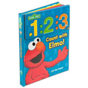 Seame Street Count With Elmo Book