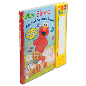Sesame Street Elmo's Animal Sounds Piano Book
