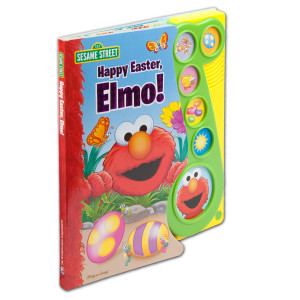 Sesame Street Happy Easter, Elmo! Book