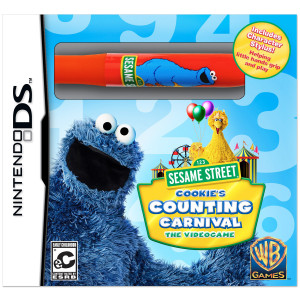 Cookie's Counting Carnival Video Game - Nintendo DS