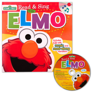 Sesame Street Read & Sing with Elmo CD