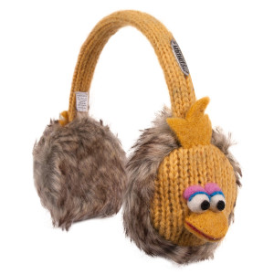 Sesame Street Big Bird Knit Earmuffs