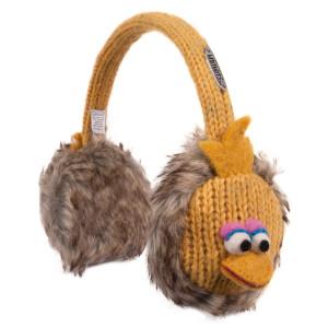 Sesame Street Big Bird Knit Earmuffs
