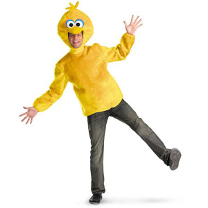 Big Bird Adult Plush Costume