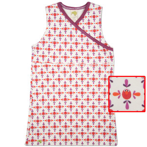 Elmo Pattern Jumper Dress