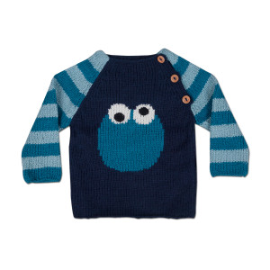 Cookie Monster Circle Pullover
