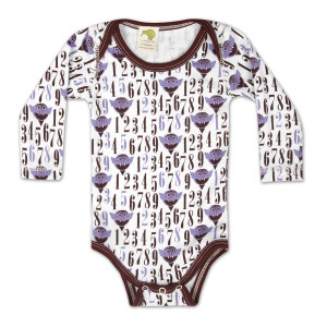 Count Number Print Onesie