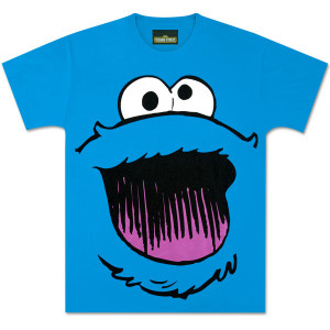 Cookie Big Face T-Shirt