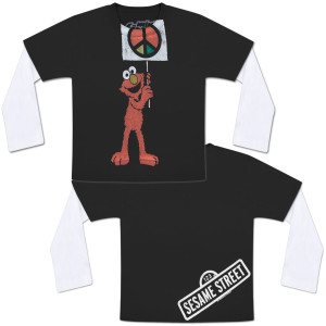 Elmo Peace Sign Infant T-Shirt