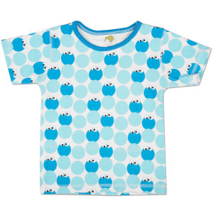 Cookie Monster Pattern Toddler T-Shirt