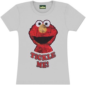 Elmo Tickle Me Ladies Tee