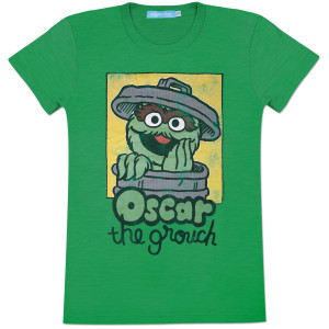 Oscar Retro Square Ladies T-Shirt