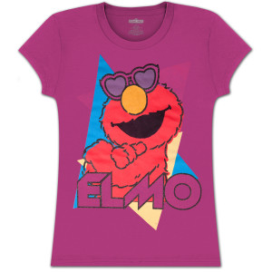 Elmo Heart Shades Girls Tee