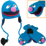 Grover Kids Hat/Mittens Bundle