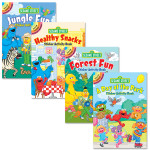 Sesame Street Sticker Activity Book Bundle