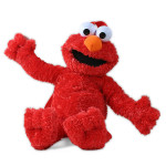 Sesame Street Elmo Plush Backpack
