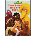 Three Bears & New Baby DVD