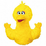 Big Bird 11 Inch Hand Puppet