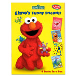 Elmo's Funny Friends 4 Book Set