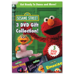 Sesame Street Dance & Move 3-DVD Boxed Set