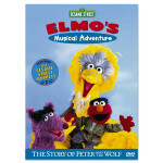 Elmo's Musical Adventure: Peter/Wolf DVD