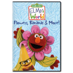 Elmo's World: Flowers, Bananas & More! DVD