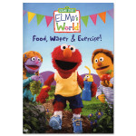 Elmo's World: Food, Water & Exercise DVD