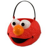 Elmo Folding Pumpkin Pail