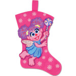 Abby Felt Snowflake Stocking