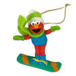 Elmo Snowboarding Ornament
