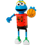 Sesame Street Cookie Monster Basketball KNEX Set