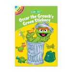 Oscar the Grouch's Green Sticker Book